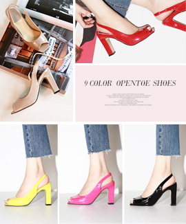 [RO0488] TESYAS <br> Ivory / Beige / Gray / Yellow / Orange / Pink / Red <br> Blue / Black 9.5cm